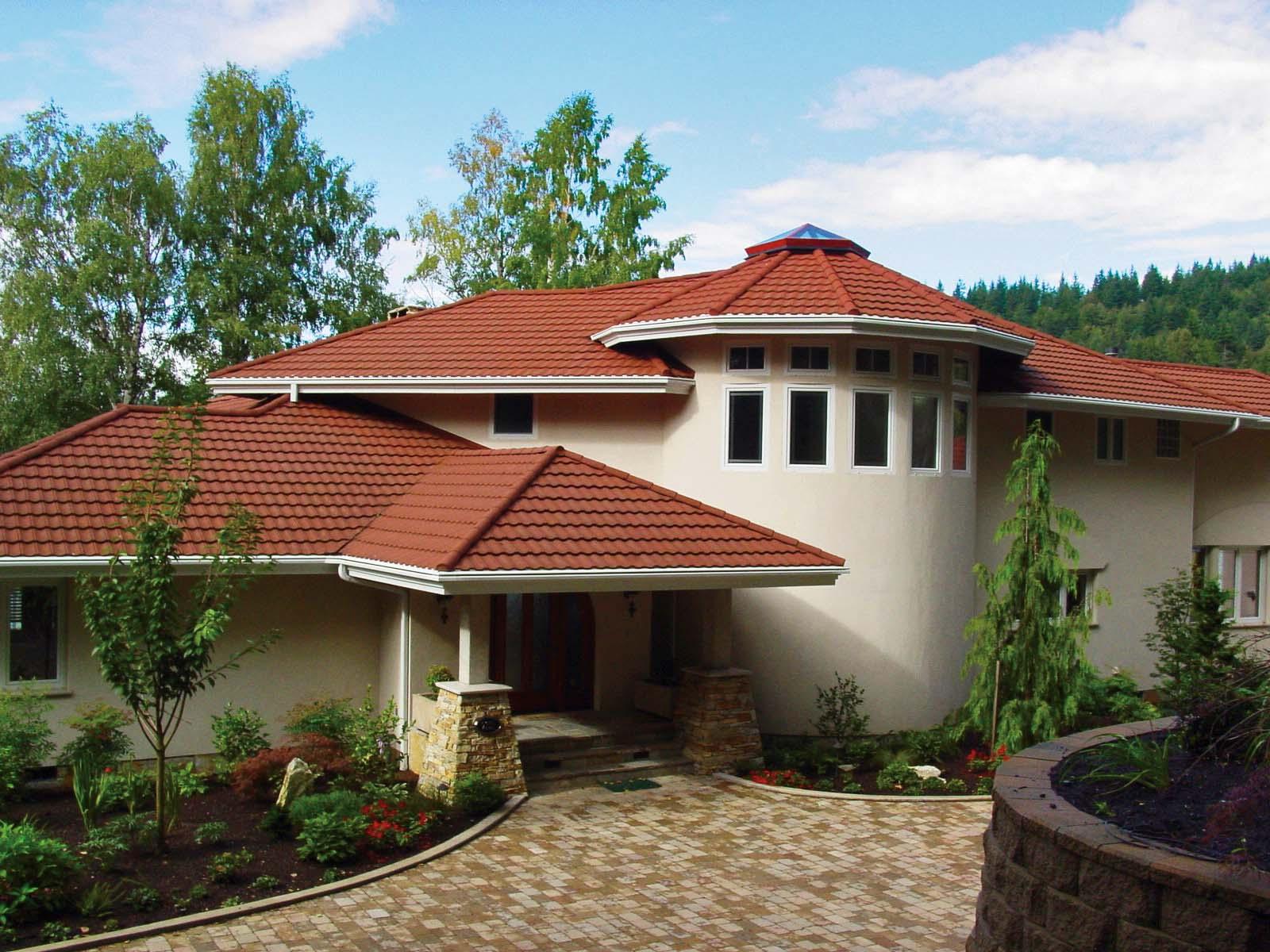 彩麟金属瓦高档屋面材料