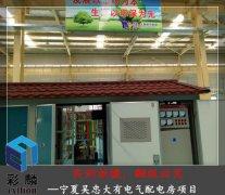 宁夏大有电气配电房项目