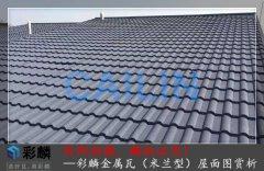 米兰金属瓦坡屋面项目案例